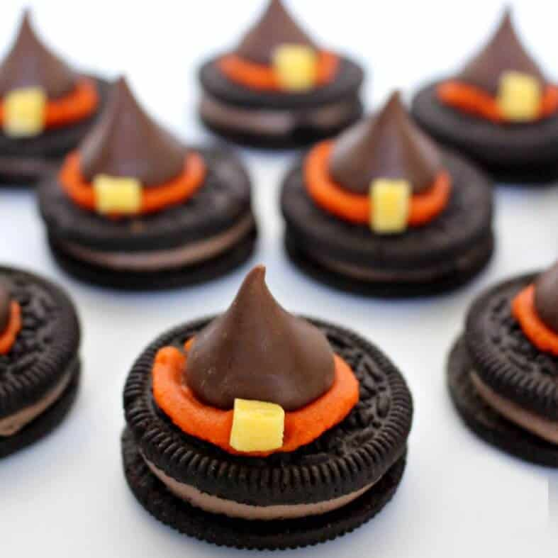 Halloween Witch Hat Cookies - The Best Blog Recipes