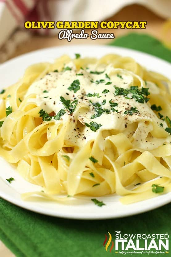 Olive Garden Copycat Alfredo Sauce The Best Blog Recipes
