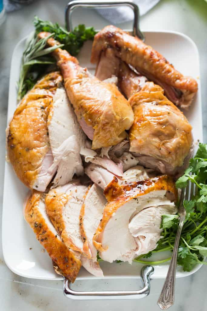 The BEST Thanksgiving Turkey recipe that packs all of the flavor and juiciness you expect from the perfect Thanksgiving turkey, with none of the stress!