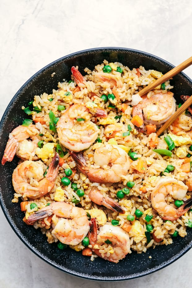 Better than Takeout Shrimp Fried Rice Recipe