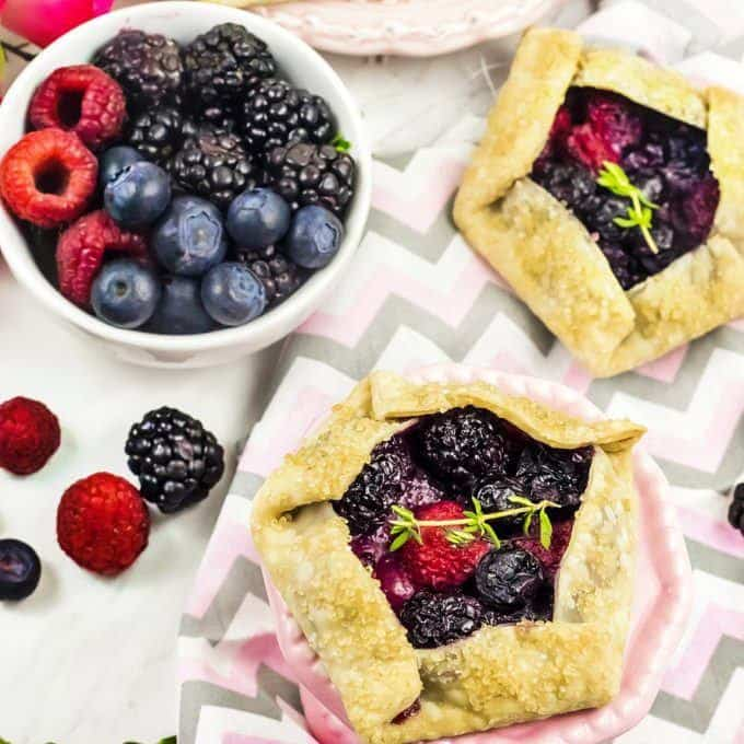 Our Keto Berry Galettes are an amazing fruit filled pastry dessert that everyone will love. Don't believe us? Go ahead, try them on your non low carb friends and family!