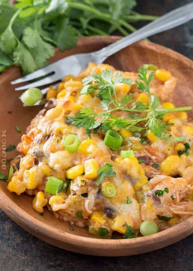 Quick cooking meals are perfect for this time of year… and this chicken enchilada casserole is no exception. Using leftover chicken, and rice and beans to make it extra hearty, plus plenty of Southwestern flair… it'll soon become a family favorite!