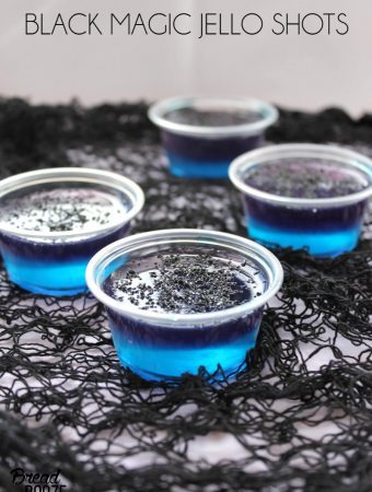 Black Magic Jello Shots