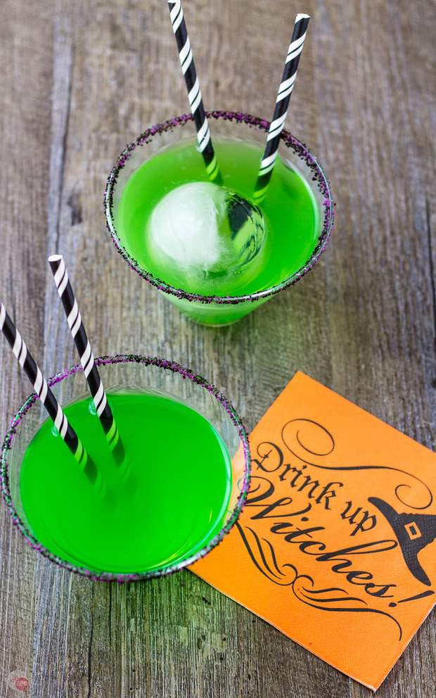 Flying Monkeys Halloween Witch Cocktail Recipe