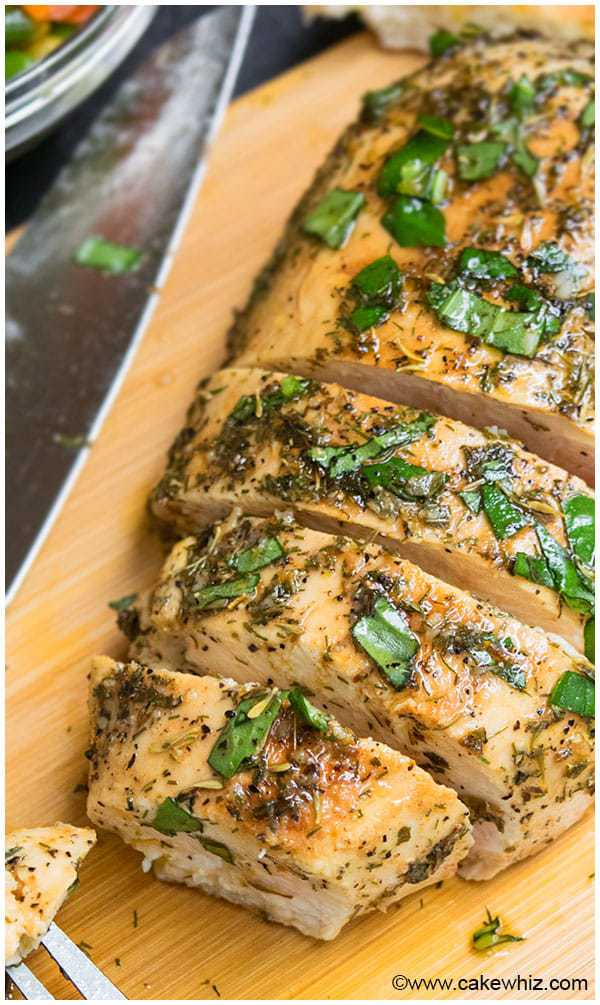 This easy Cilantro Lime Chicken recipe is quick to make and has tons of flavor. Perfect chicken marinade for grilling, baking, or sautéing and freezes well, too.