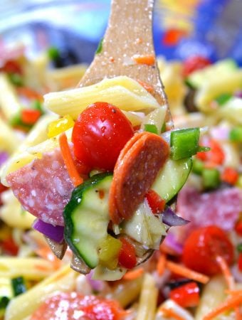Loaded Italian Pasta Salad