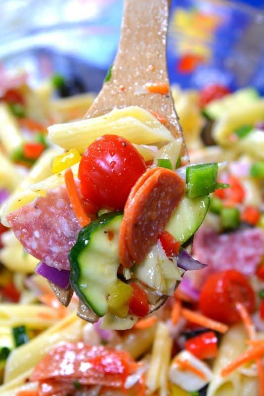 Loaded Italian Pasta Salad The Best Blog Recipes