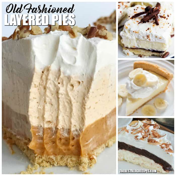Old Fashioned Layered Pies