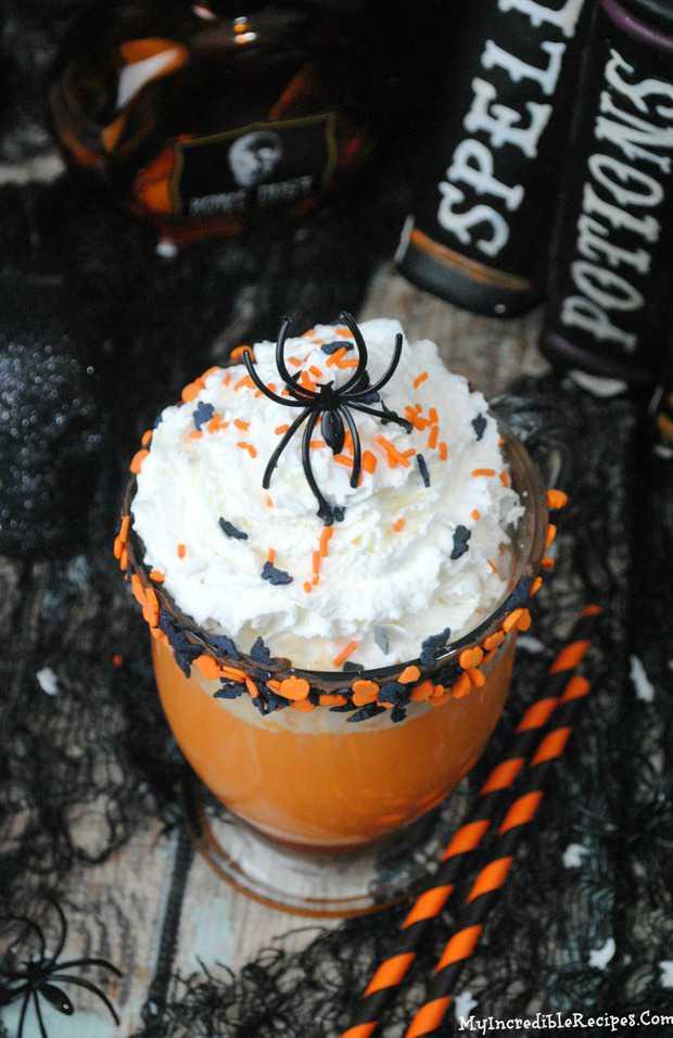 Slow Cooker Halloween Hot Chocolate Recipe
