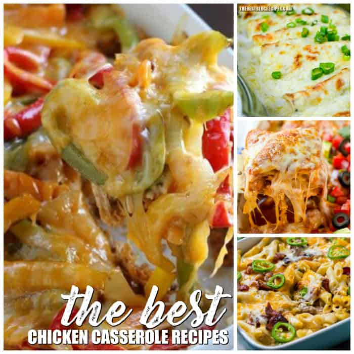 If you're looking for a new weeknight dinner to make for your family then you've come to the right place! We have rounded up The Best Chicken Casserole Recipes that your family is going to love!
