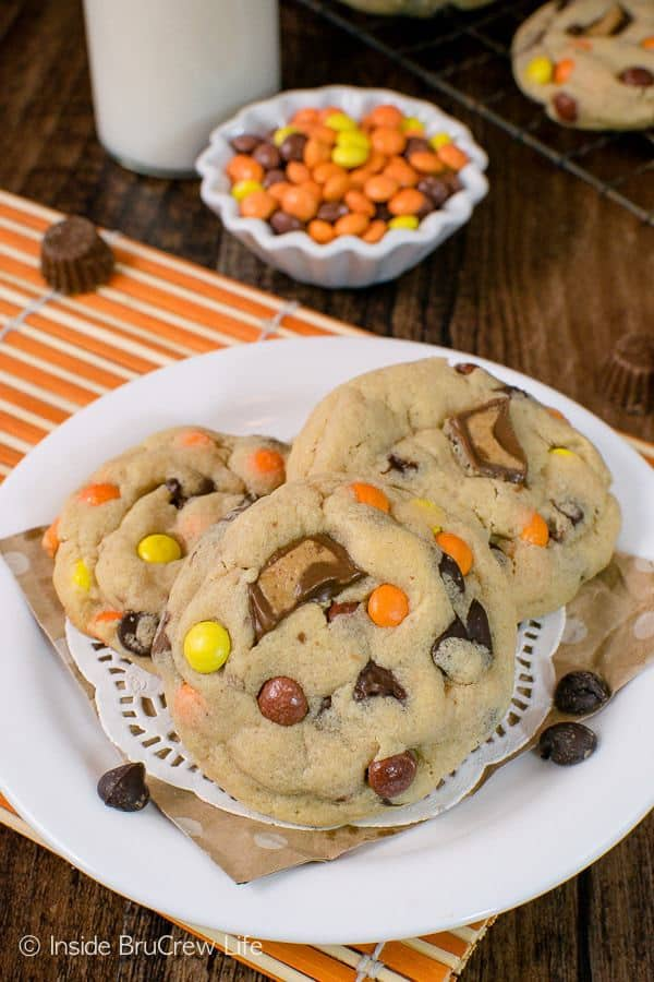 Fill your cookie jar with a batch of theseReese's Peanut Butter Pudding Cookiestoday! Soft and chewy cookies are always a good idea.