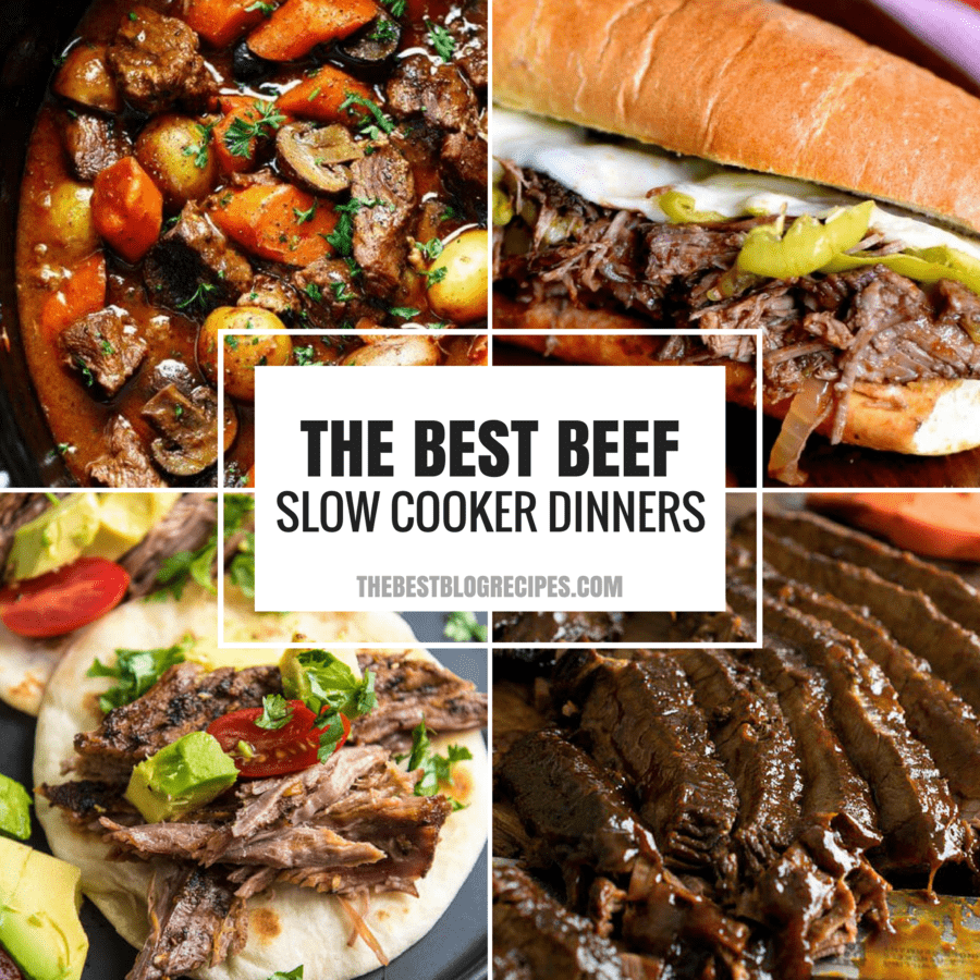 Slow Cooker Dinners: The Best Slow Cooker Beef Dinner Recipes