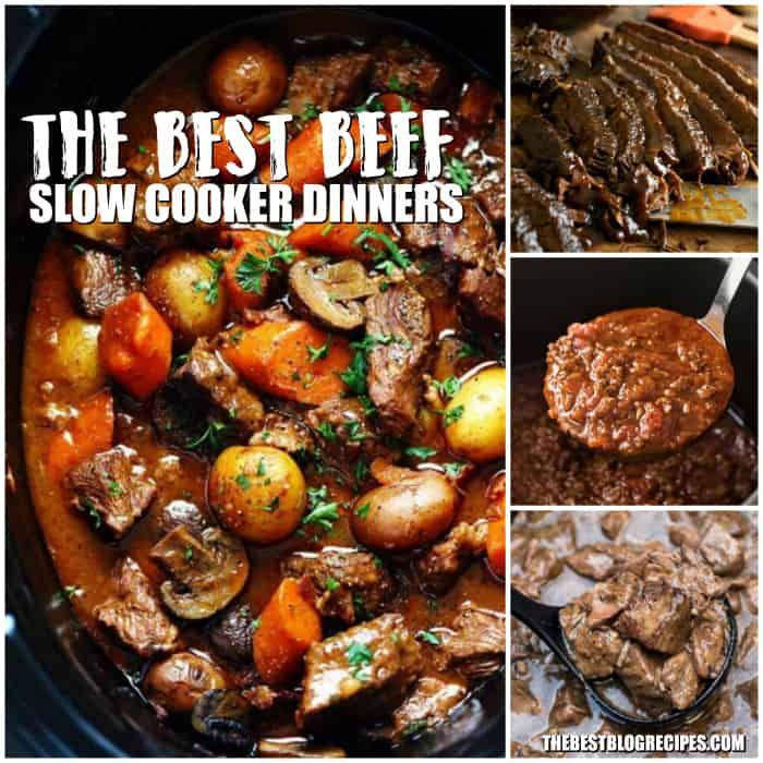 The Best Beef Slow Cooker Dinners