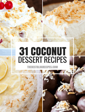31+ Coconut Desserts That Will Satisfy Your Sweet Tooth!