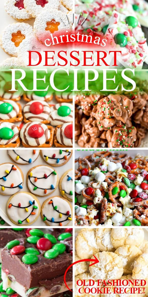 CHRISTMAS DESSERT RECIPES | 20+ EASY CHRISTMAS DESSERT RECIPES | THE BEST BLOG RECIPES