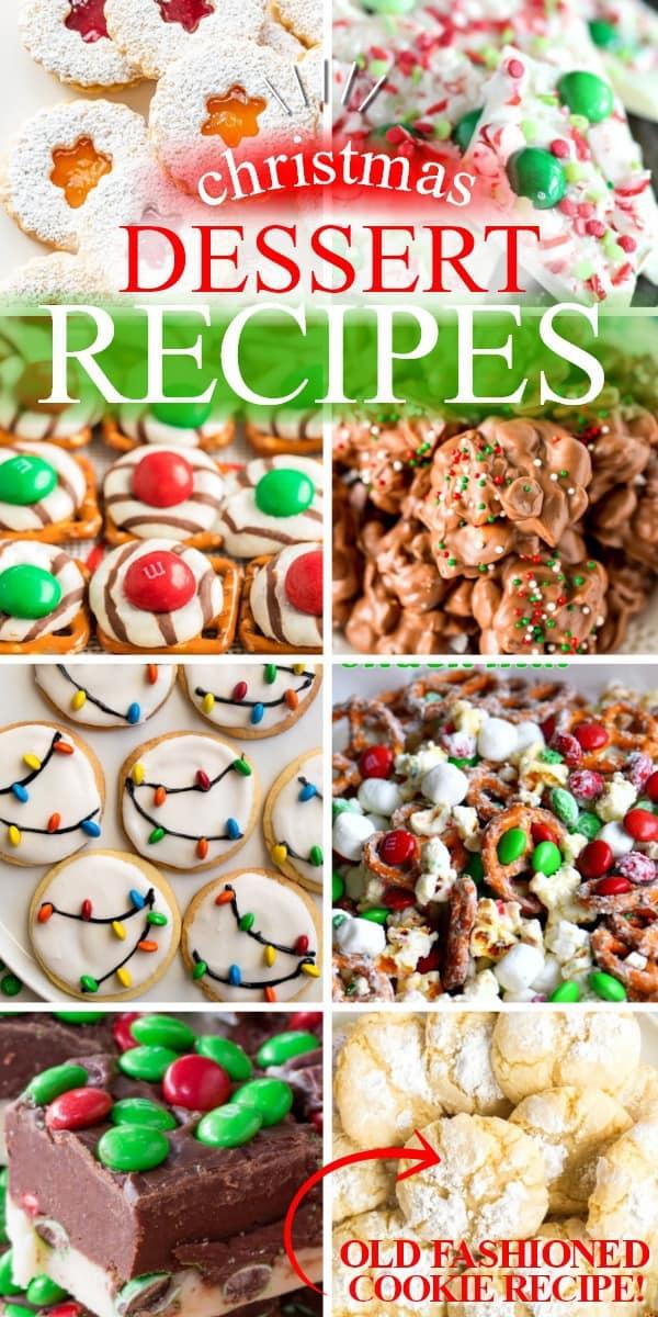 20+ Easy Christmas Dessert Recipes