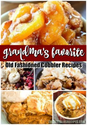 GRANDMAS FAVORITE OLD FASHIONED COBBLER