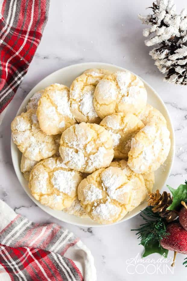 ORANGE CRINKLE COOKIES | 20+ Easy Christmas Dessert Recipes | The Best Blog Recipes
