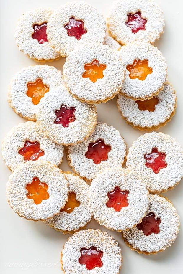 Old-World-Linzer-Cookies