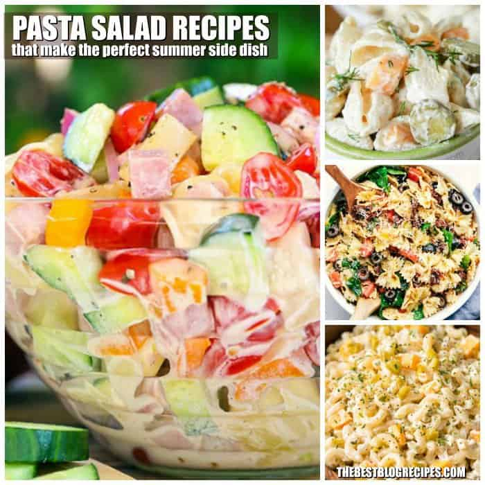 Best Pasta Salad Recipes perfect for Summer Entertaining are a total crowd pleasers! They are perfect for Barbecues, potlucks, after school snacks, or dinner parties! With so many different types of pasta salads, you are sure to have a go to for any occasion! It will have those you are serving coming back for seconds!