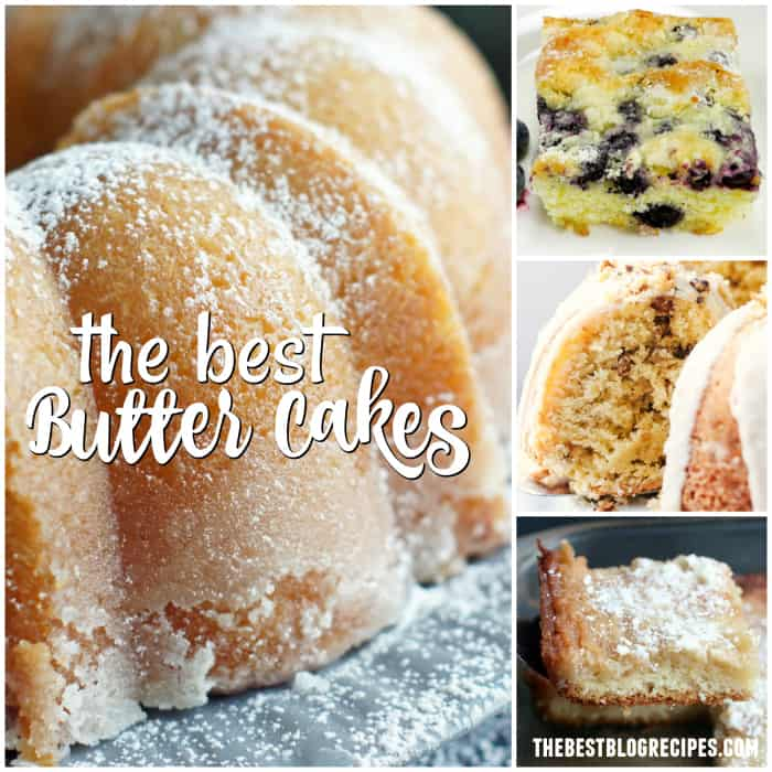 OOEY GOOEY BUTTER CAKES! We've compiled our favorite and most popular butter cake recipes, and they're perfect for all of the occasions in your life!
