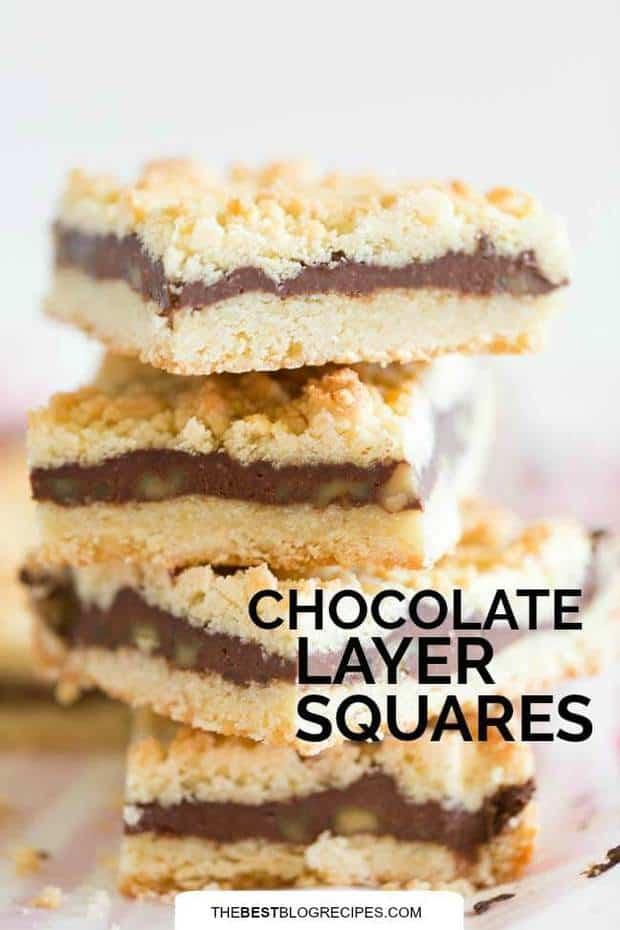 Chocolate Layer Squares
