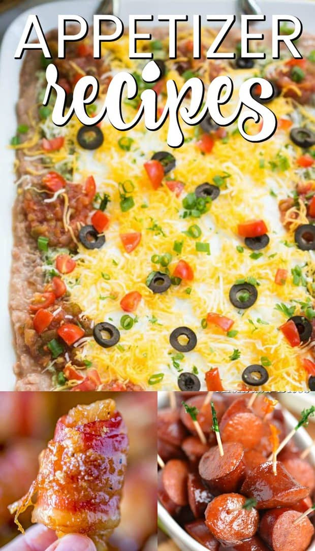 The Most Delicious Appetizer Recipes Perfect for any Party are all easy to make, delicious, and will feed a crowd at your gathering. From hot and delicious cheese bombs, to the best restaurant style salsa -- there is something on this list for every party!