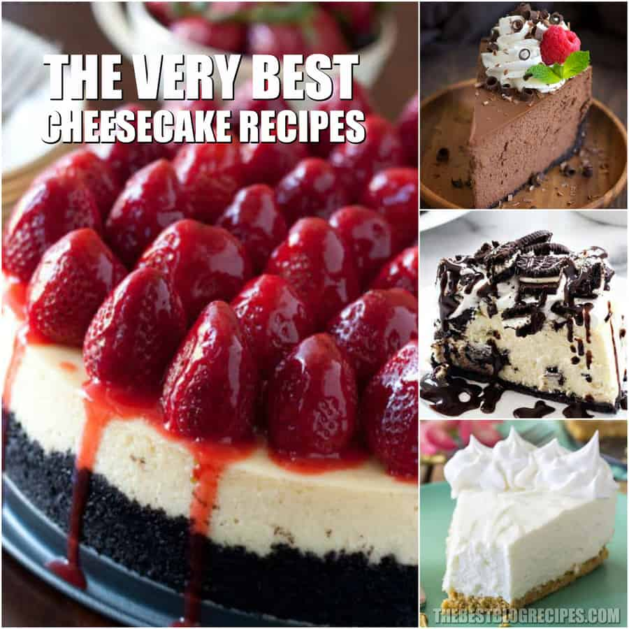 Easy Cheesecake Recipes on this list are truly to die for! With their decadent, sweet, creamy flavors, no one will be able to resist these unbelievable cheesecakes! Get ready to want to eat the entire thing all by yourself.