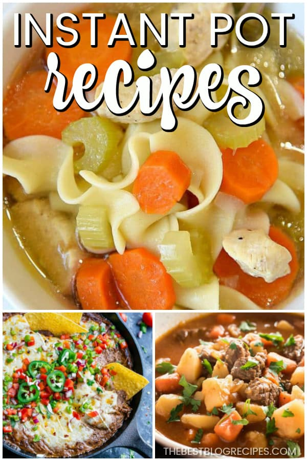 For easy and delicious dishes, you need The Best Instant Pot Recipes. From dinners to desserts, these recipes are ready to go in just a few minutes! Perfect for a simple night in or dinner to impress!
