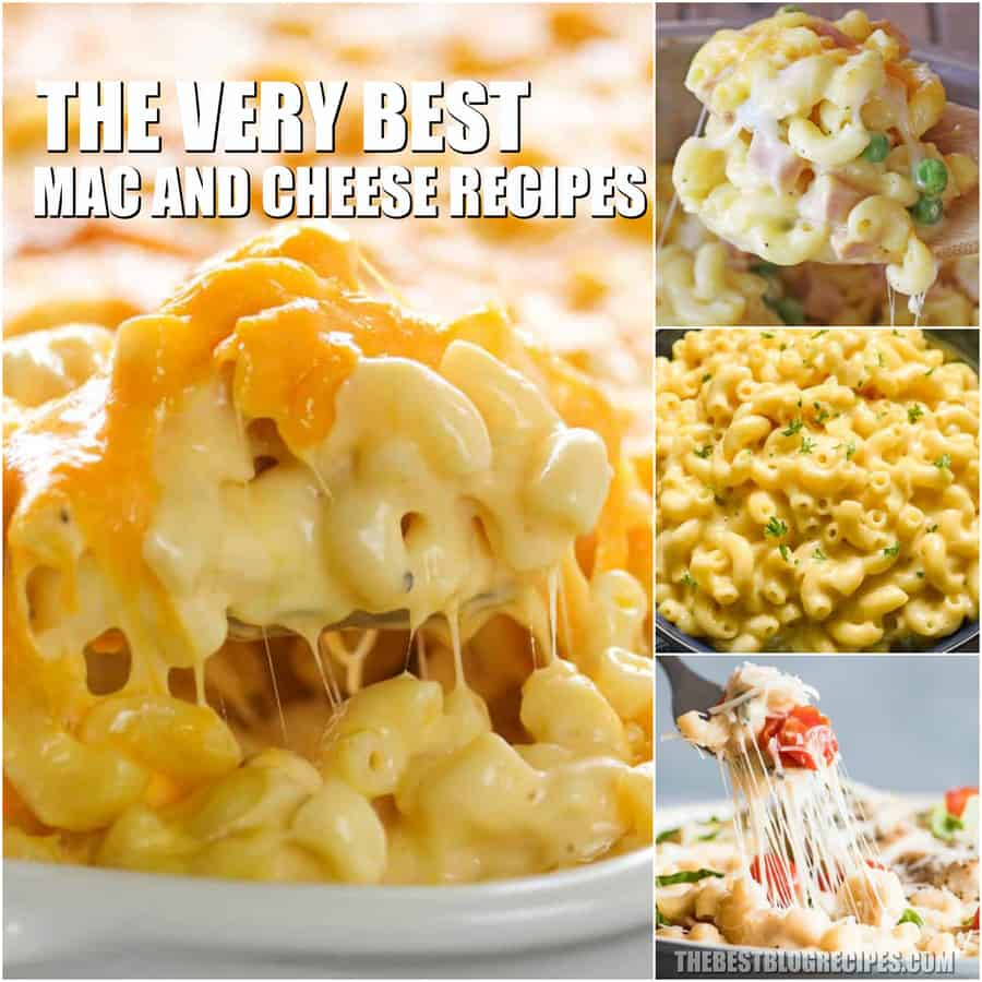 You have to try the Best Macaroni and Cheese Recipes for those nights when you just need an easy and delicious dinner! Not only are these recipes simple to make, but they will become some of your new favorite dinners!