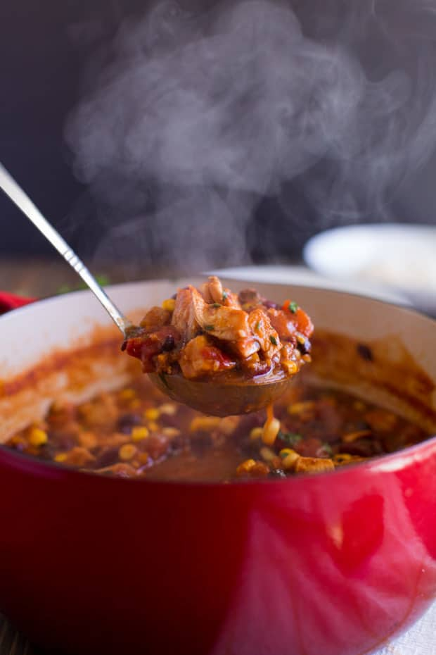 Chicken Taco Chili - The Best Blog Recipes