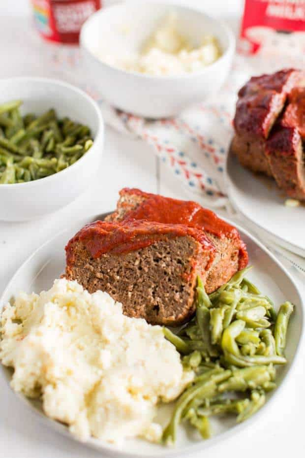 Meatloaf-from-scratch-dinner