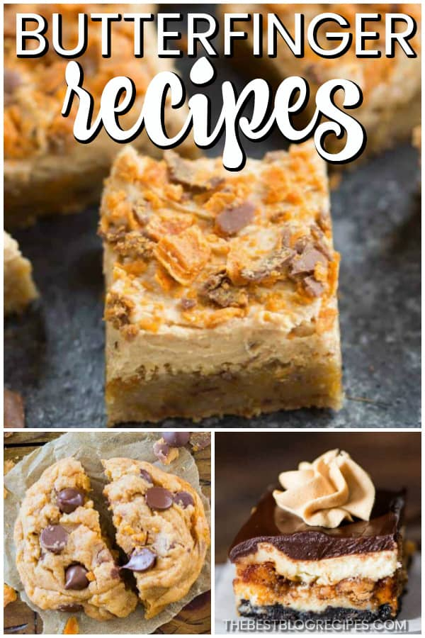 If you're a candy addict, you need to try the Best Butterfinger Recipes! These desserts inspired by the classic candy bar are absolutely to die for. You won't be able to get enough!