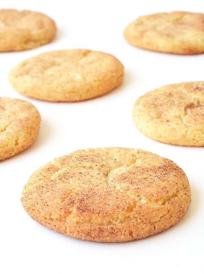 hese cookies are so simple but they are truly special. A buttery cookie rolled in cinnamon sugar and then baked to crinkly perfection. If you're a cinnamon enthusiast like me, these cookies are for you.