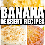 Long Pin for Banana Dessert Recipes