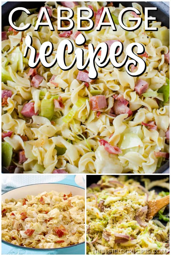 The Best Cabbage Recipes are going to be your new favorites! They are the perfect side dish to any dinner and trust me when I say that there will be no leftovers.