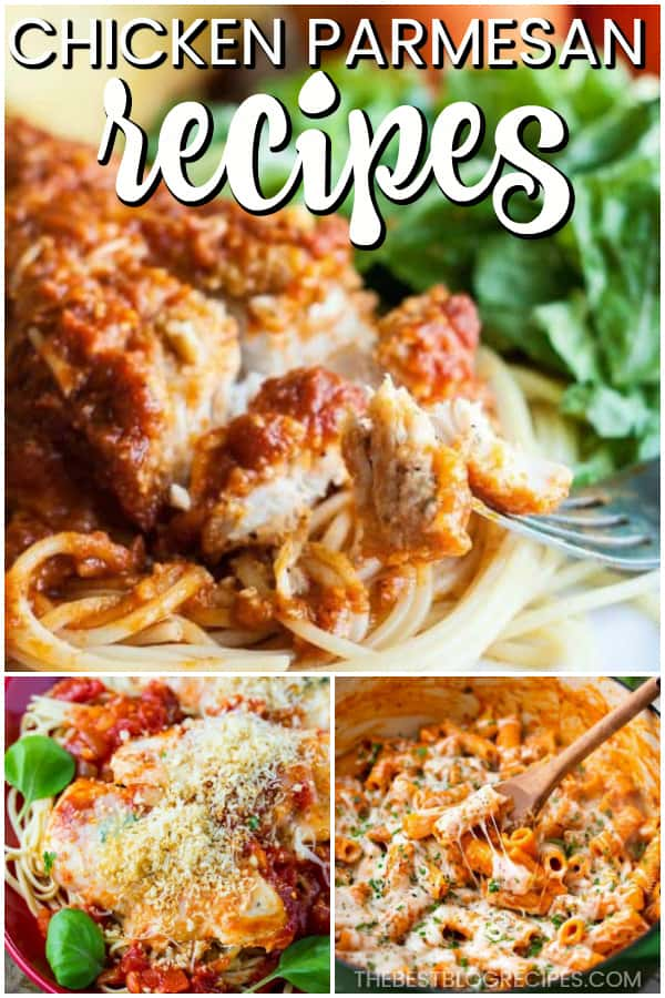 The Best Chicken Parmesan Recipes are going to become new family favorites! With tasty flavors and easy instructions, these recipes will be your new go to's.