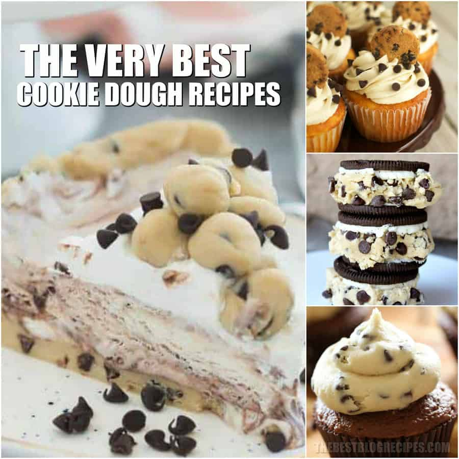 In love with Cookie Dough? So are we!!! That's why we've created the most drool-worthy, and downright sinfully delicious list of the Best Cookie Dough Recipes!