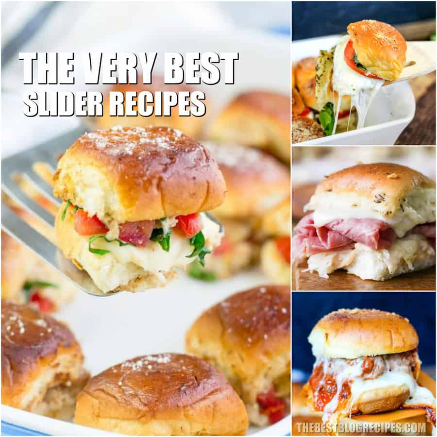 The Best Sliders Recipes are perfect for an easy weeknight dinner or a tasty appetizer for game day. These slider recipes have major crowd pleasing potential, and we know you will make these recipes for year to come!
