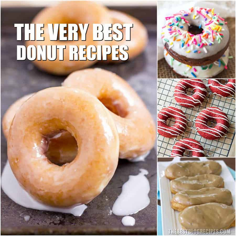 You will never want store bought donuts again after you try The Best Homemade Donut Recipes! The sweet simplicity and flavor of these donuts will have you craving the recipes for years to come!