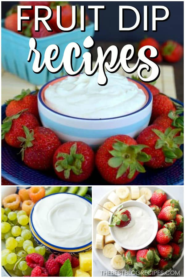 Easy Fruit Dip Recipes are the perfect appetizer recipe for all of your summer parties. These recipes are easy to make, with hints of lemon and different tropical flavors.
