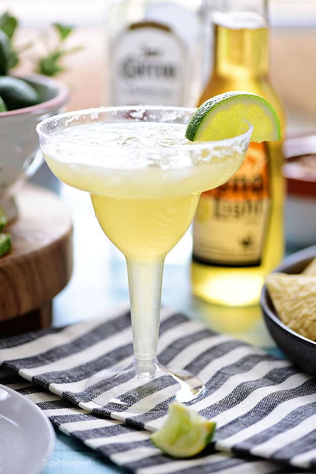 This easy recipe for a Beer Margarita has only 3 ingredients and is dripping with Mexican flavors. Just in time for Cinco de Mayo, game day or your summer sipping pleasure.
