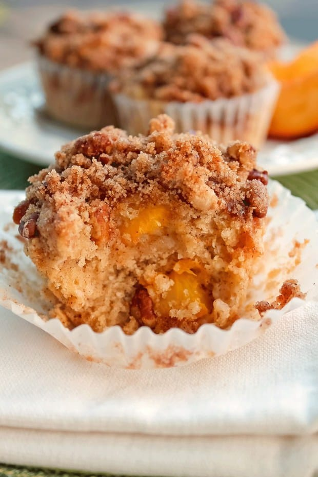 It's not an overly sweet muffin, everything works together perfectly to give you an outstanding flavor and texture.