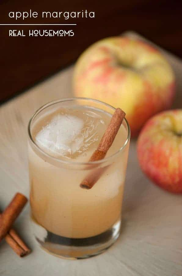 Fall entertaining wouldn't be complete without serving a delicious APPLE MARGARITA made with apple cider, silver tequila, and elderflower liqueur!
