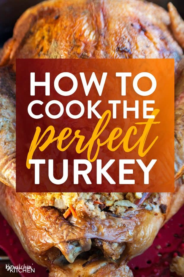 I'll never forget my first turkey dinner. I had no idea how to cook a turkey so I called my mom and got the how-to over the phone. I now make 3-4 turkeys a year (it's my husband's favorite) and I want to share my tips and tricks on the best way to cook a turkey with all of you.