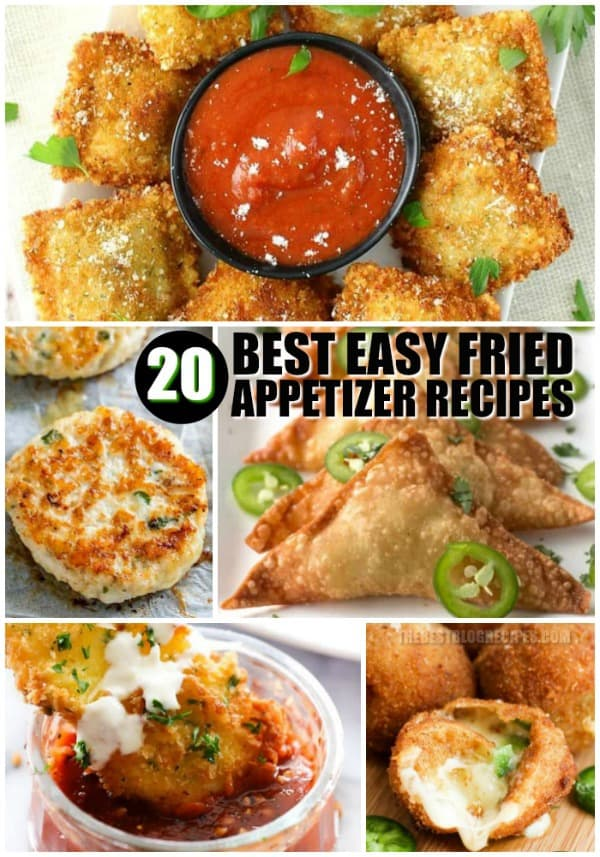 20 BEST EASY FRIED APPETIZER RECIPES