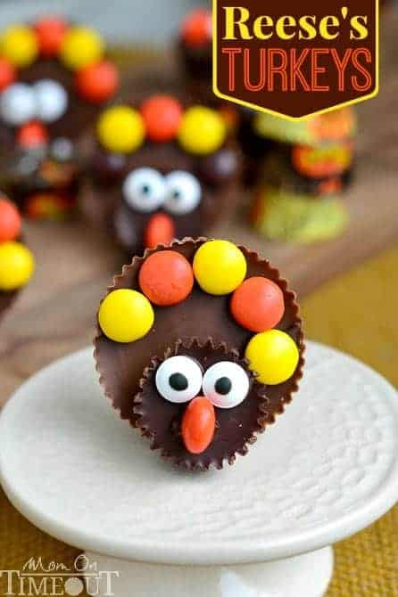 Calling all Reese's lovers! Look no further for the perfect Thanksgiving treat with these completely adorableReese's Turkeys!