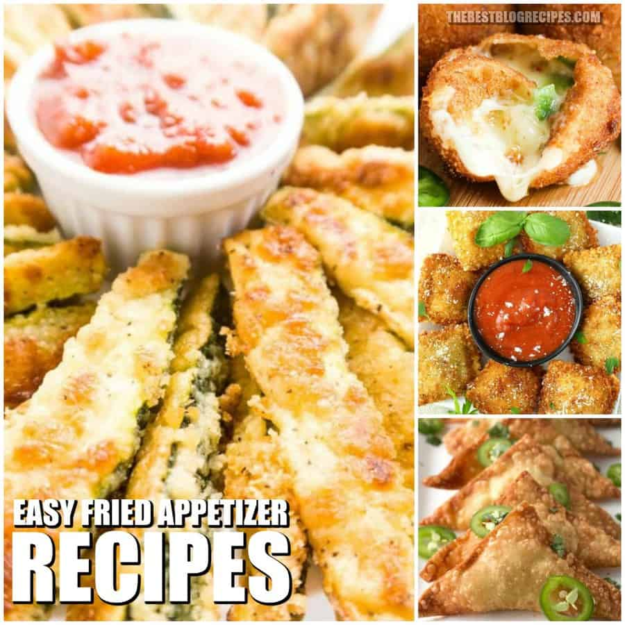 EASY FRIED APPETIZER RECIPES