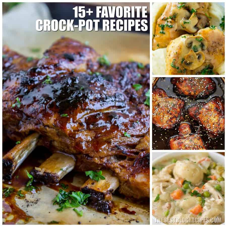 Best Crock Pot Dinner Recipes ♡ The Best Blog Recipes