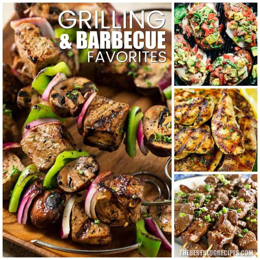 GRILLING AND BARBECUE FAVORITES